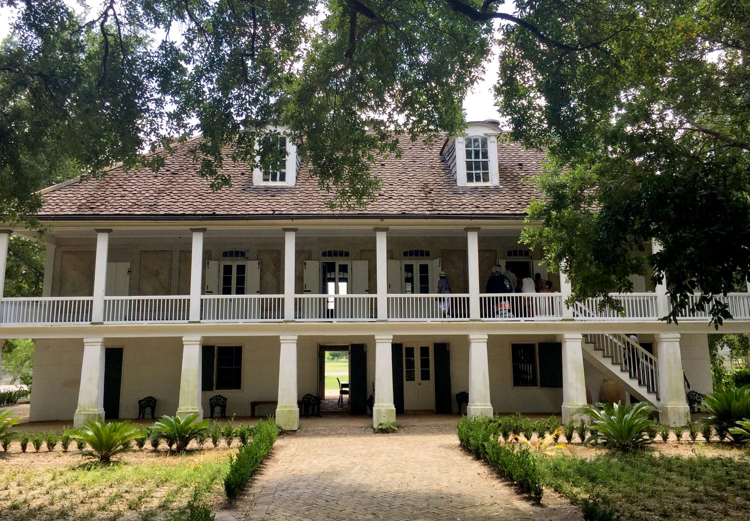 The Big House on the Whitney Plantation in New Orleans