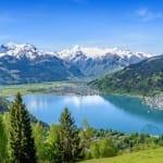 Zell am See in Salzburg, Austria