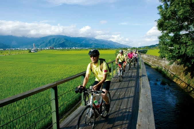 Cycling in the East Rift Valley in Taiwan