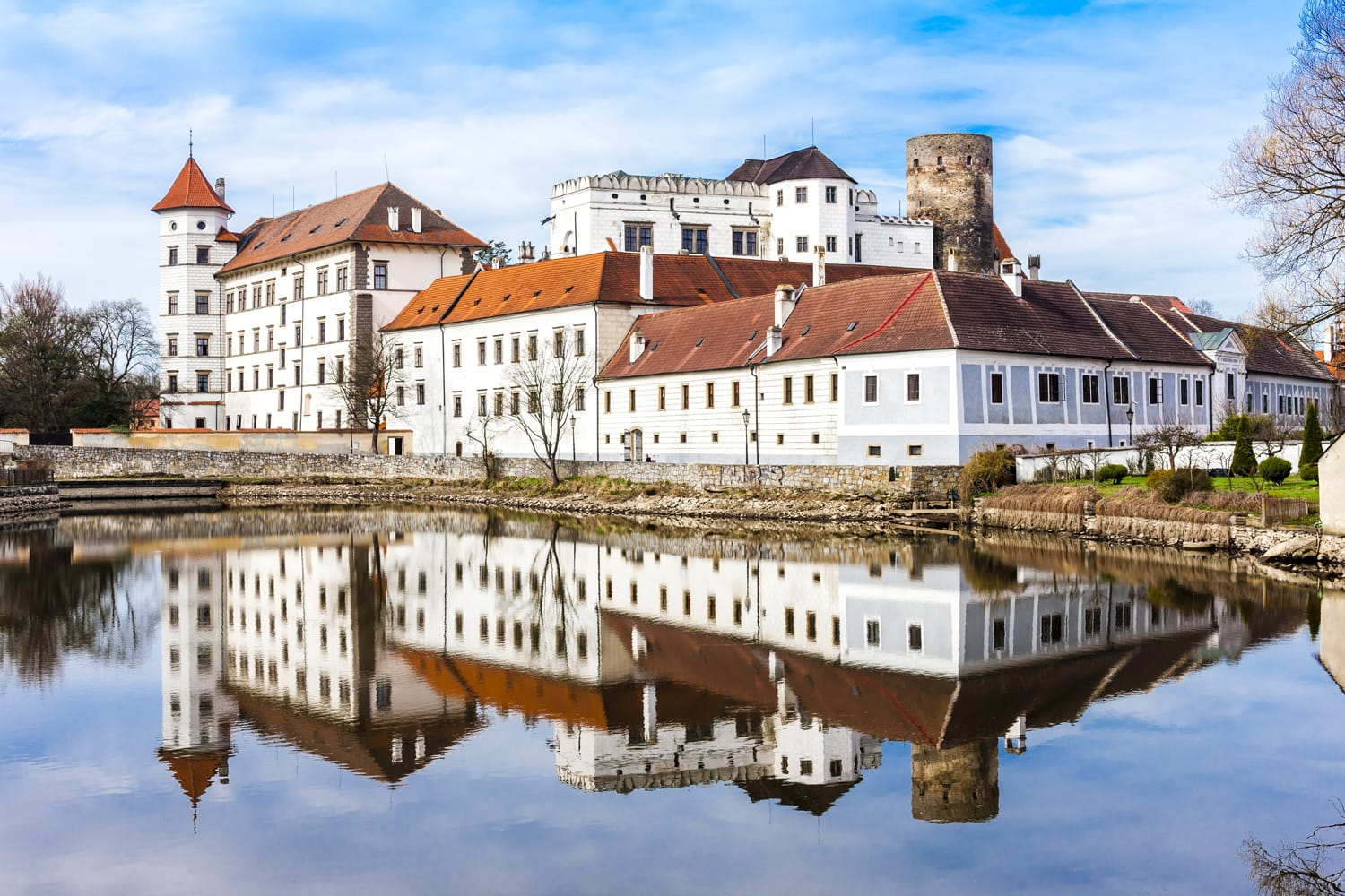 castle and palace of Jindrichuv Hradec, Czech Republic