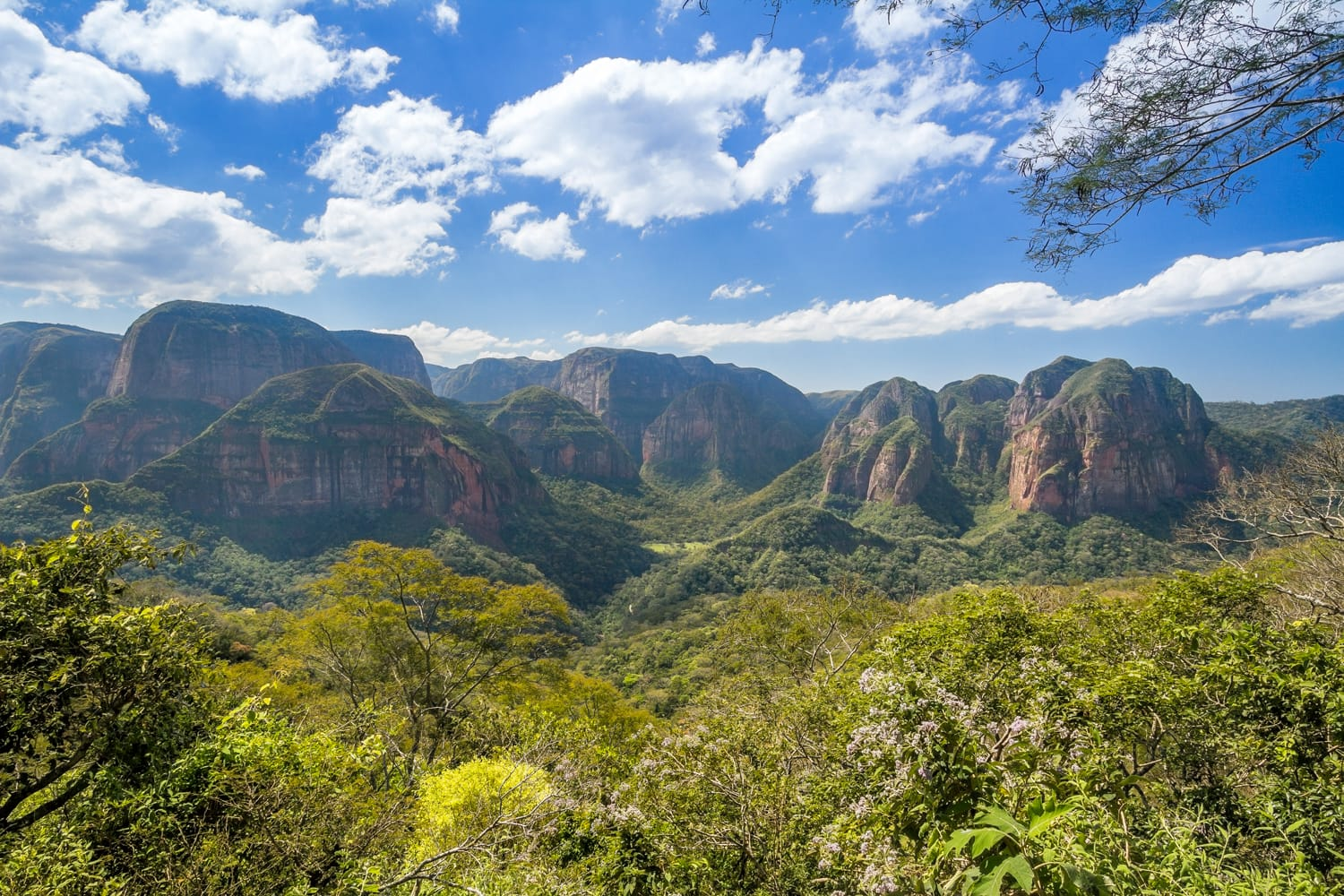Amboro National Park in Bolivia