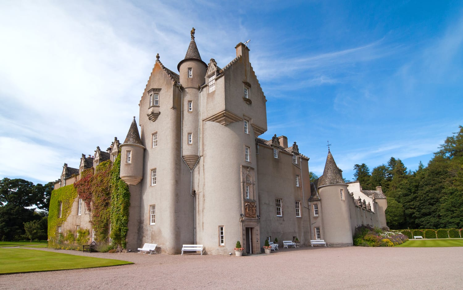 Ballindalloch Castle in Scotland