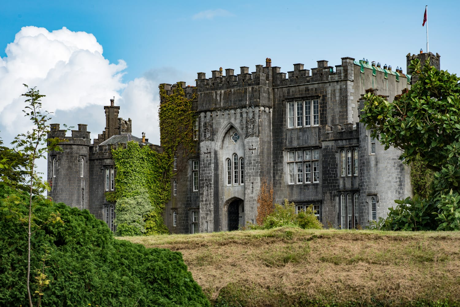 Birr Castle in County Offaly, Ireland