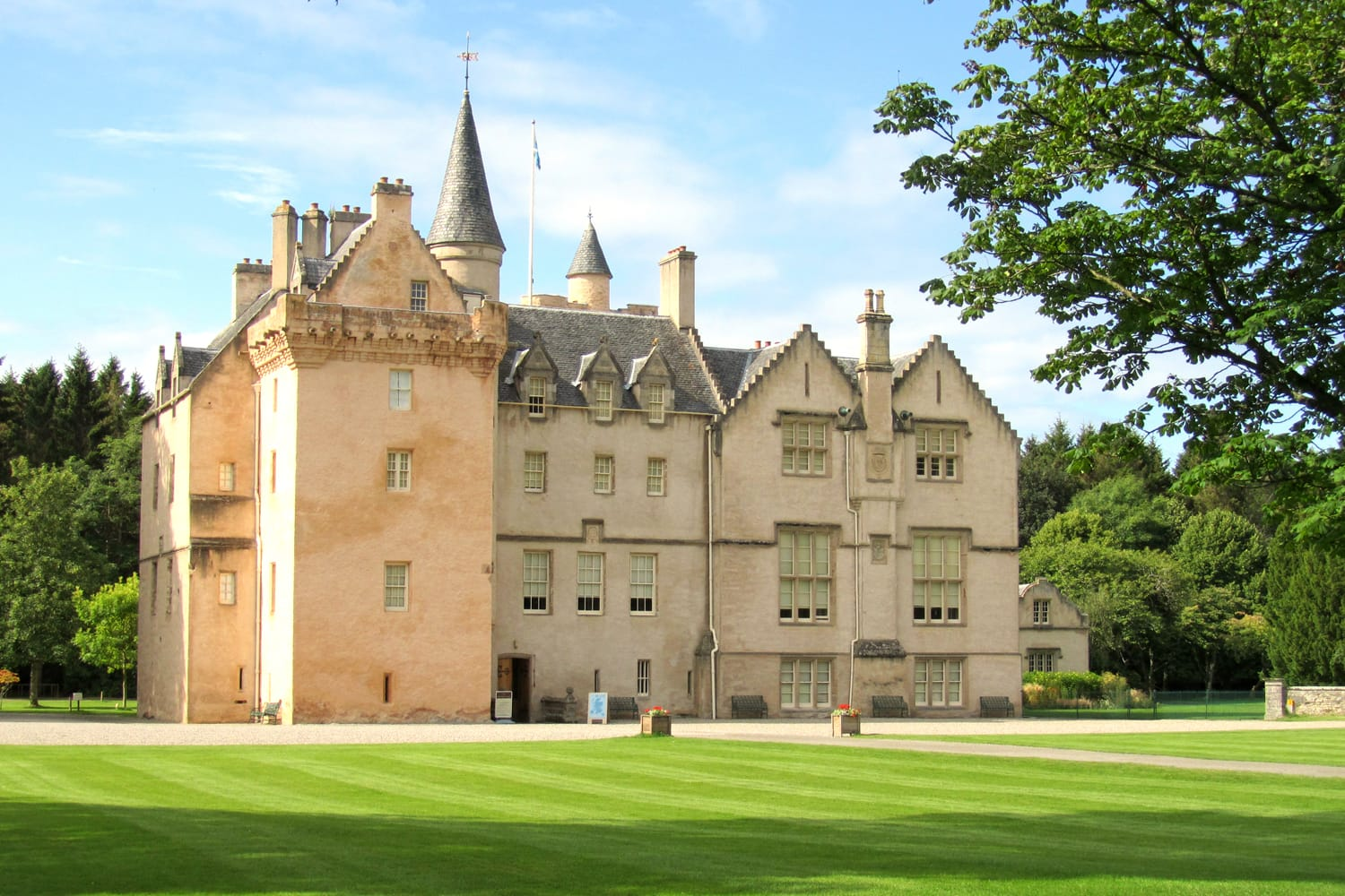 Brodie Castle in Scotland