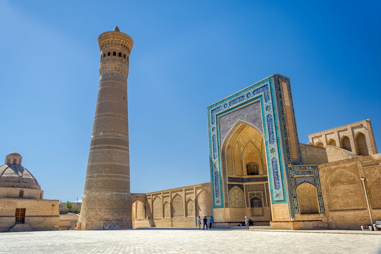 Kalyan minaret and kalyan mosque, Bukhara, Uzbekistan