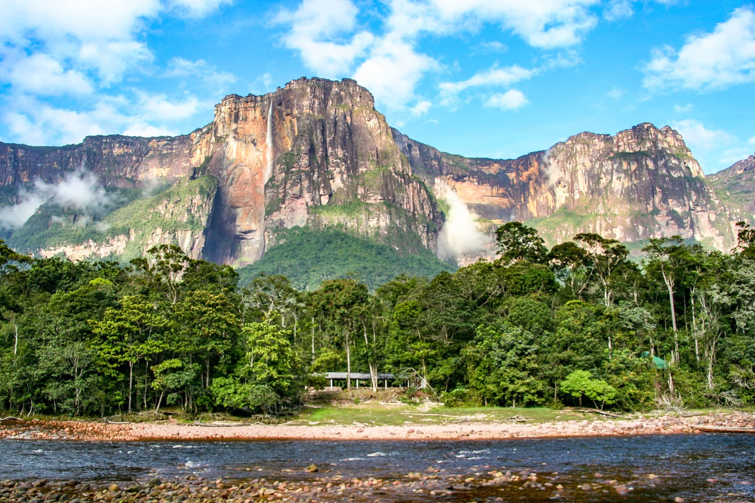 Angel Falls at Canaima National Park, Venezuela
