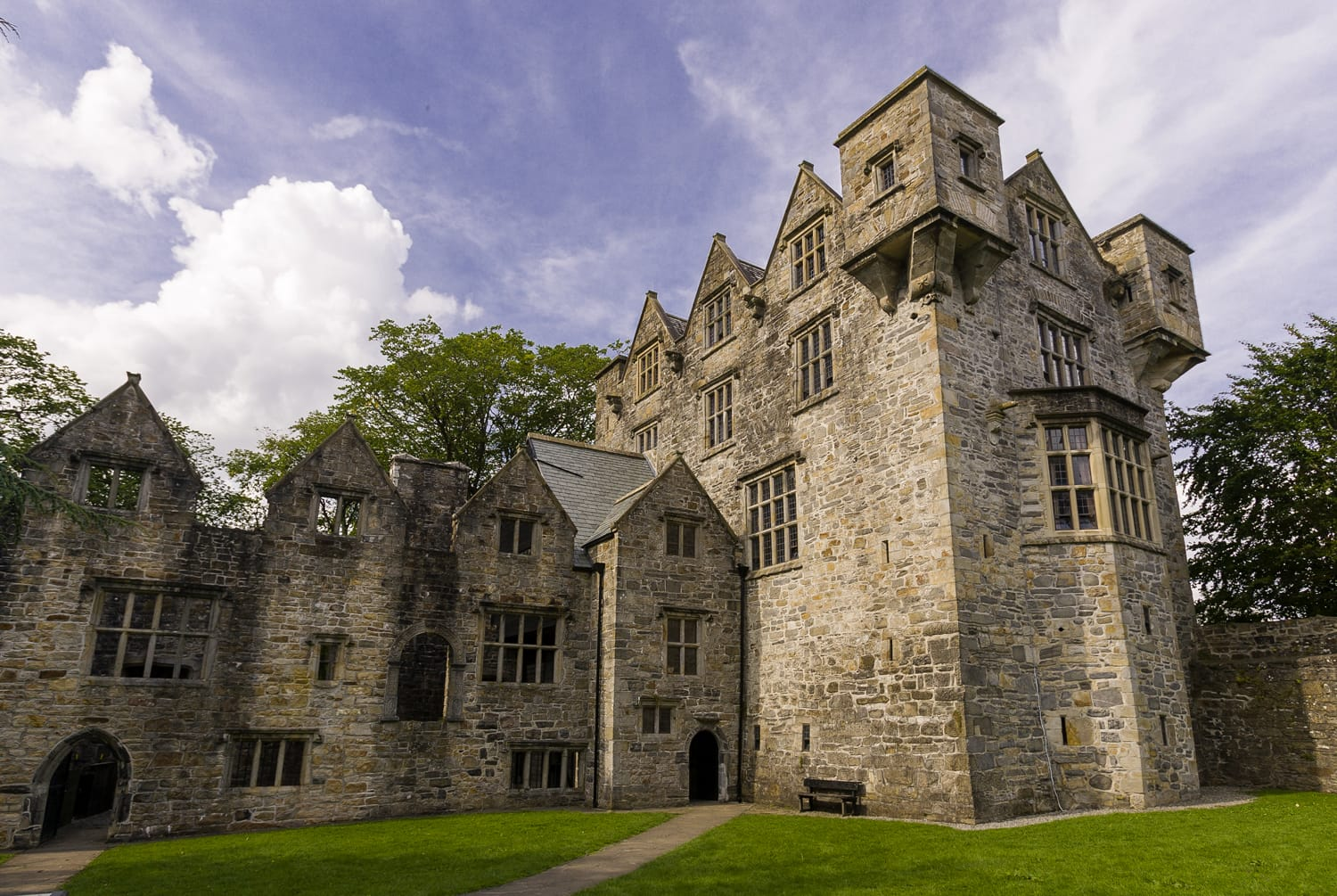 Donegal Castle in Ireland