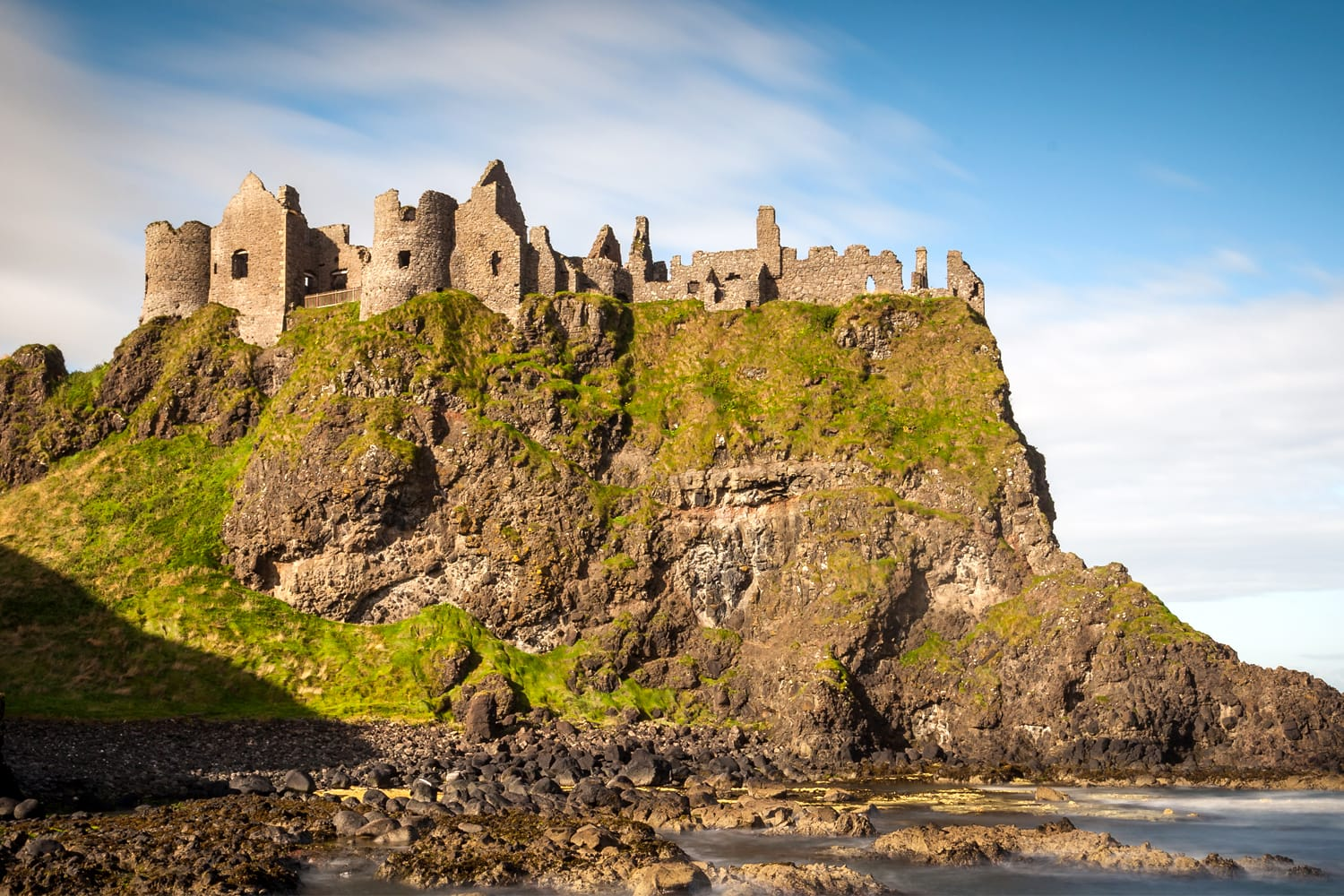 Dunluce Castle in Ireland