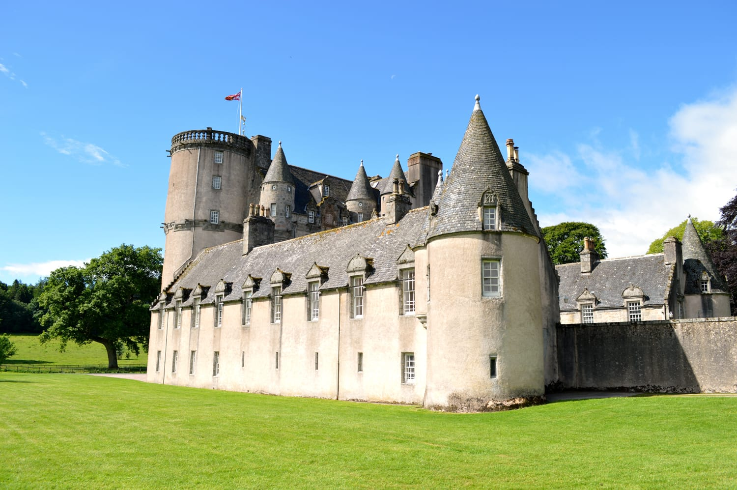 Stunning Castle Fraser situated just west of Aberdeen in Aberdeenshire Scotland