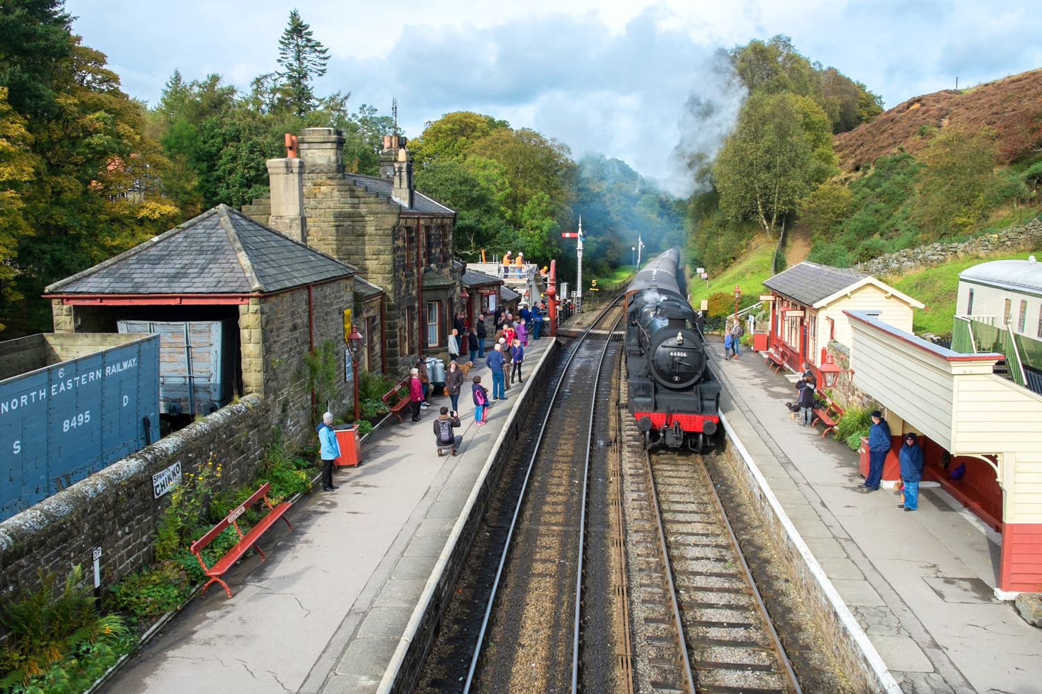 Goathland Station in UK