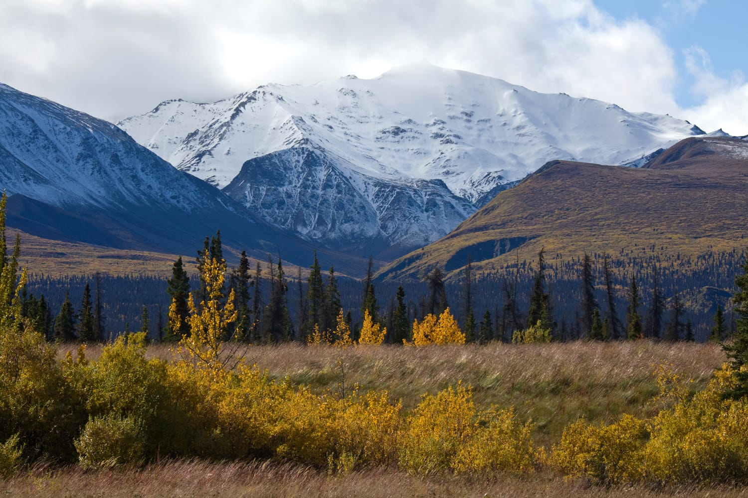Kluane National Park in Canada