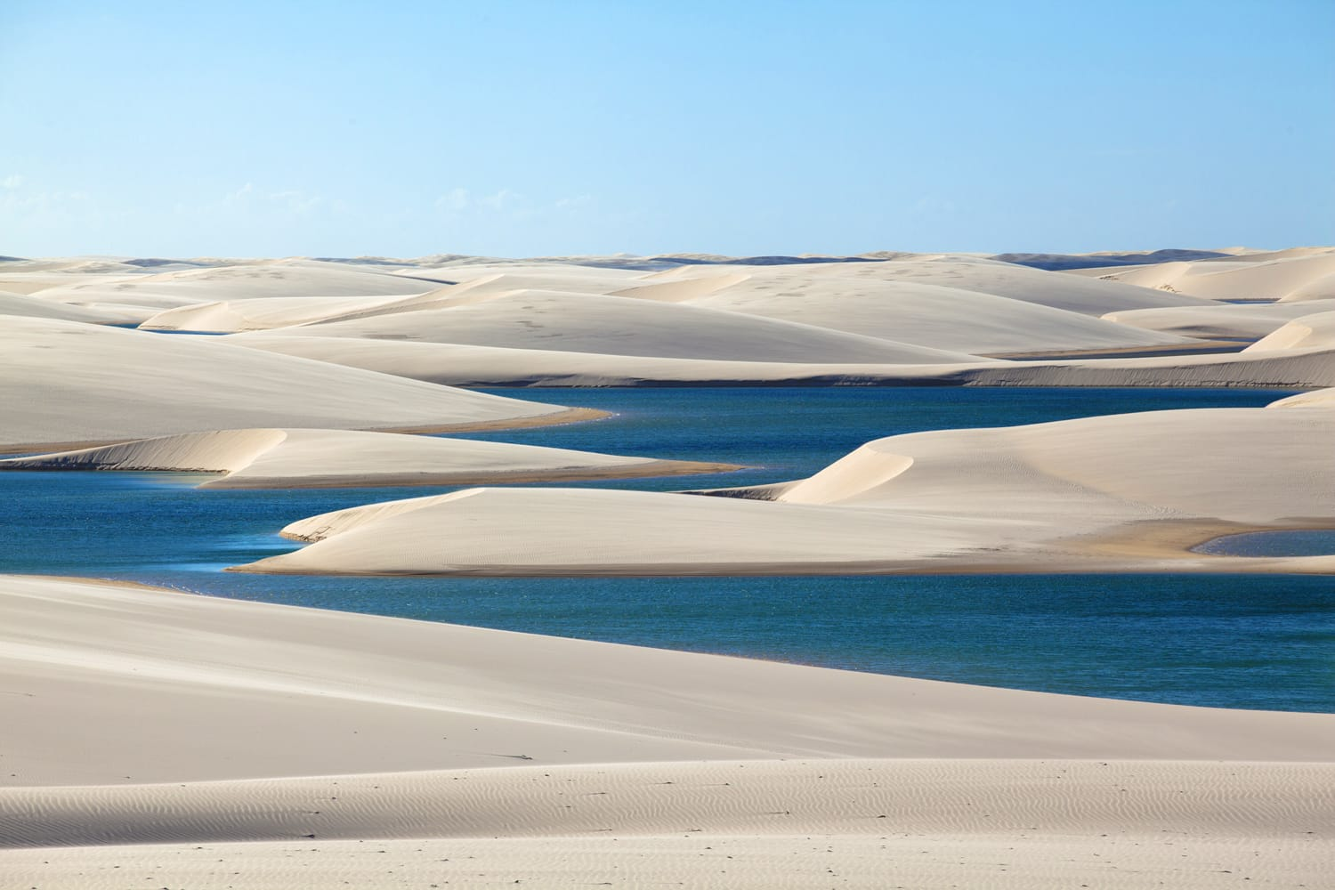 Lencois Maranhenses National Park in Brazil