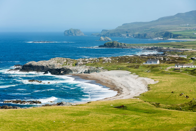 Malin Head in Ireland