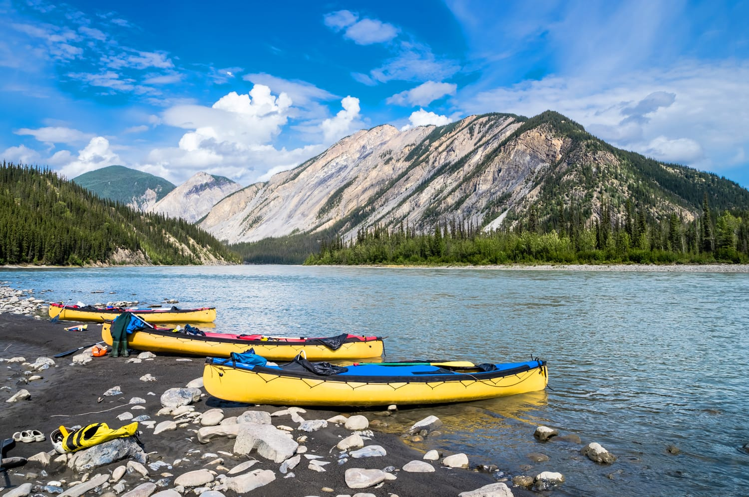 Nahanni National Park in Canada