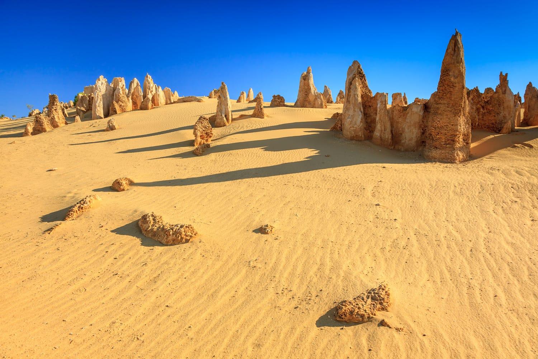 Pinnacles at Namburg National Park, Cervantes, Western Australia