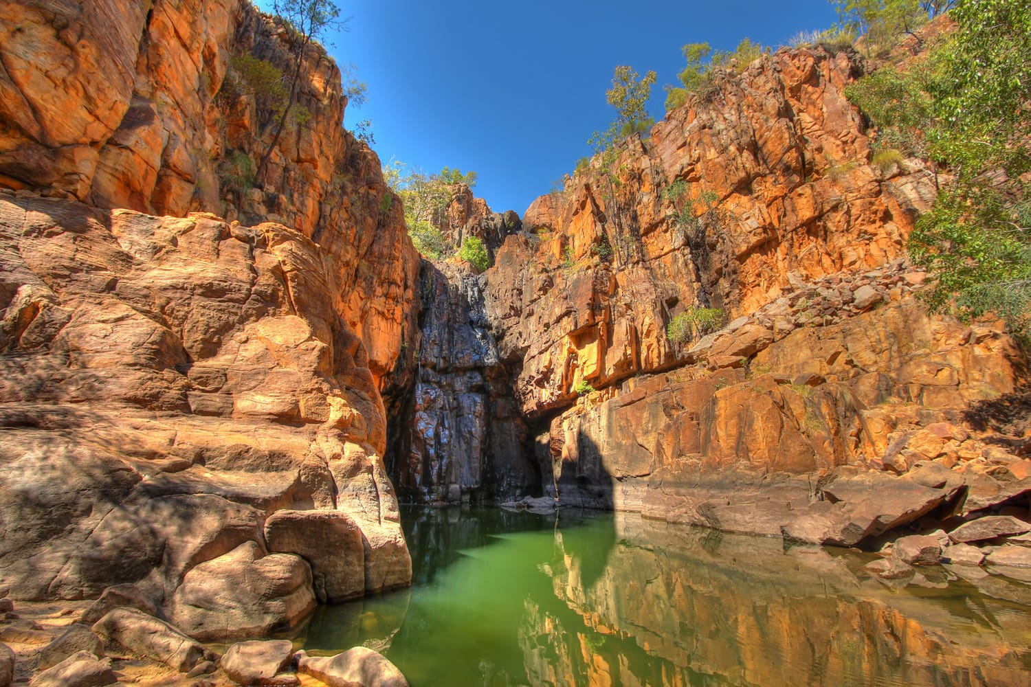 Nitmiluk (Katherine Gorge) national park in Australia