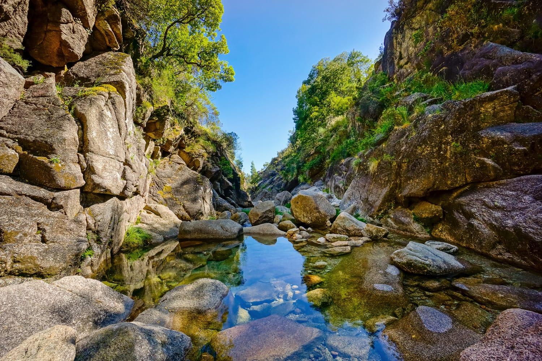Mountain creek in Peneda Geres National Park, Portugal