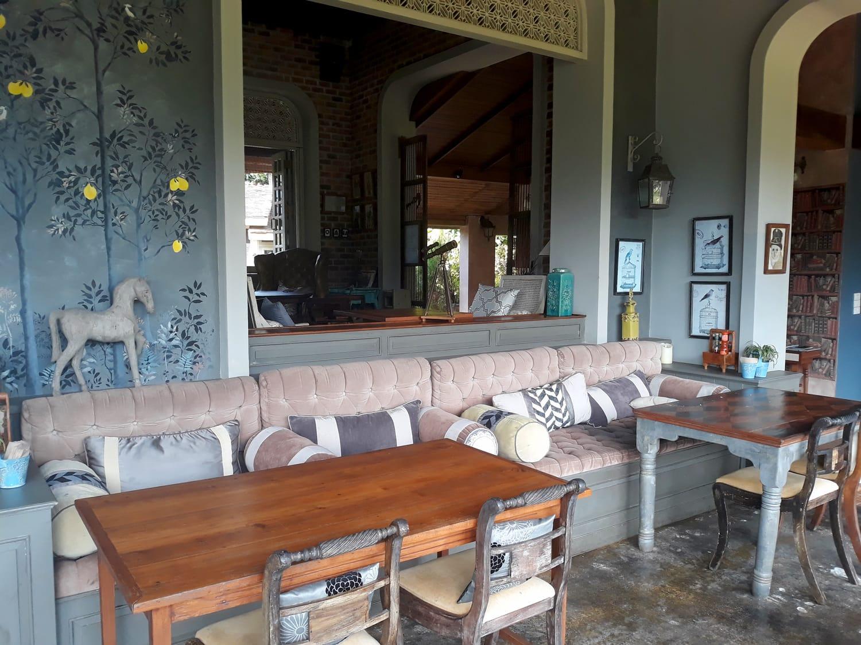 Restaurant at Reverie Siam Resort in Pai, Thailand
