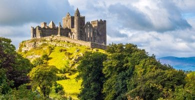 Rock of Cashel in Ireland
