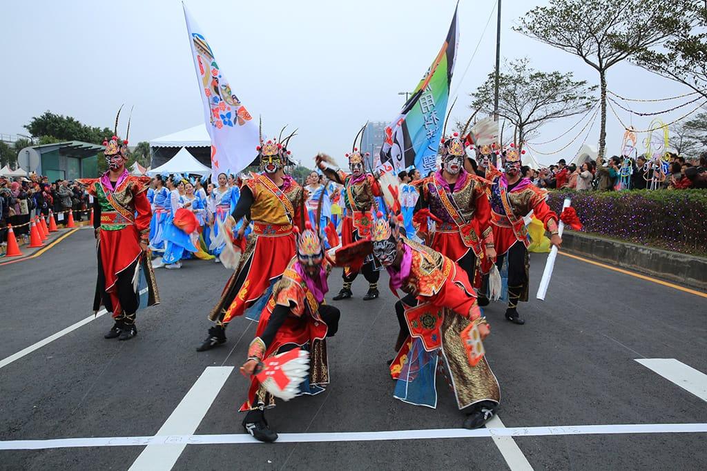 Performance at Taiwan Lantern Festival