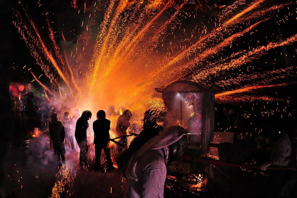 Yenshui Fireworks in Taiwan