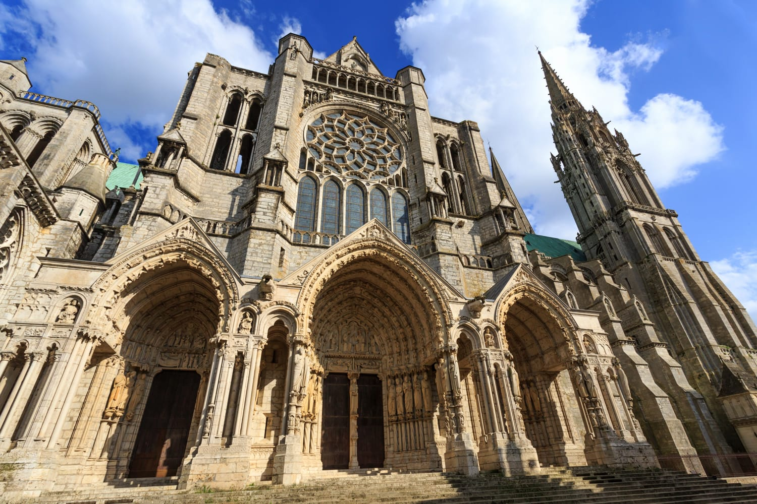 Cathedral Basilica of Our Lady of Chartres, France