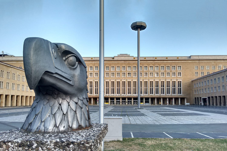 Airport Tempelhof in Berlin, Germany