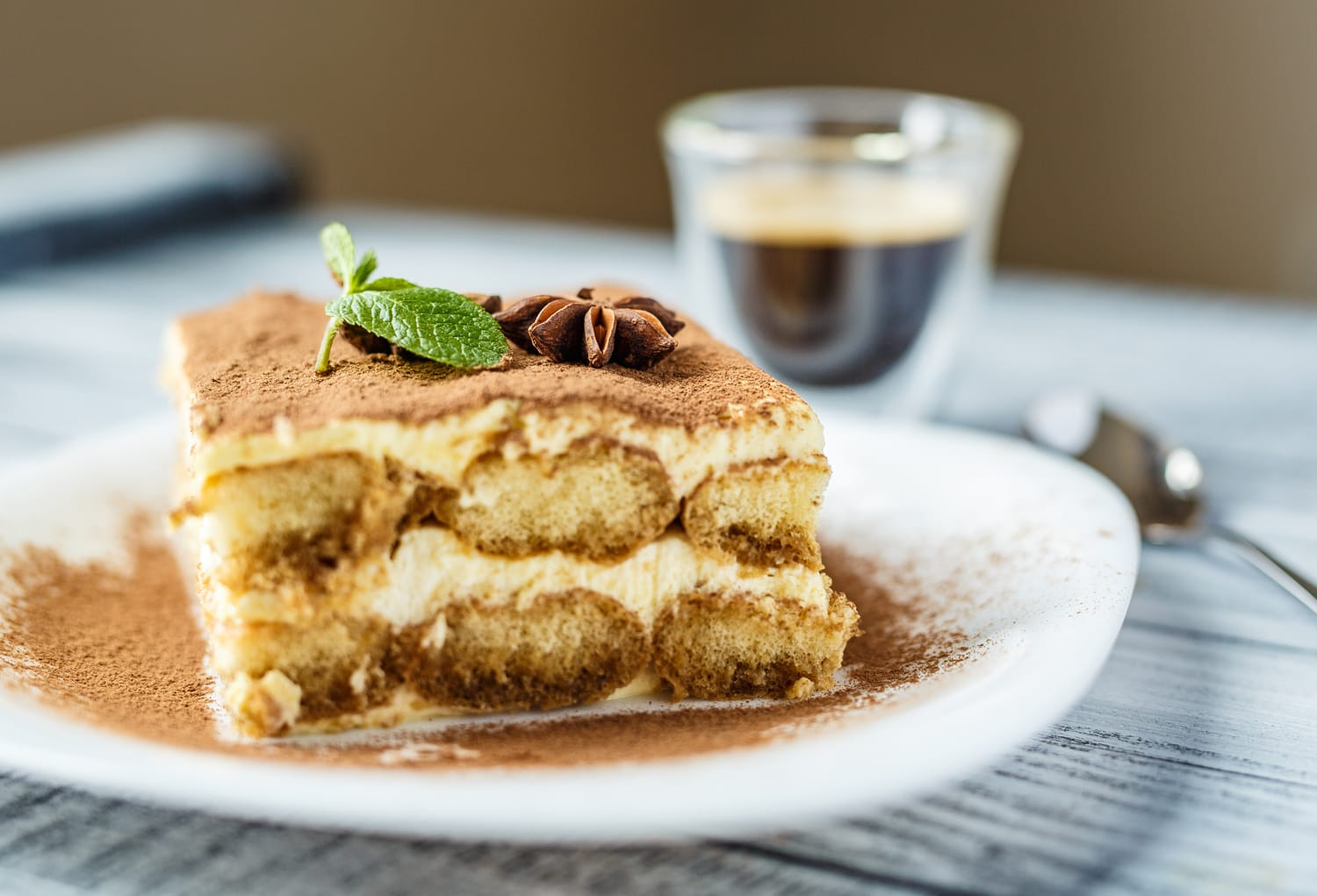 Gluten free rome a travel guide for celiacs road affair delicious tiramisu on a wooden background fandeluxe Gallery