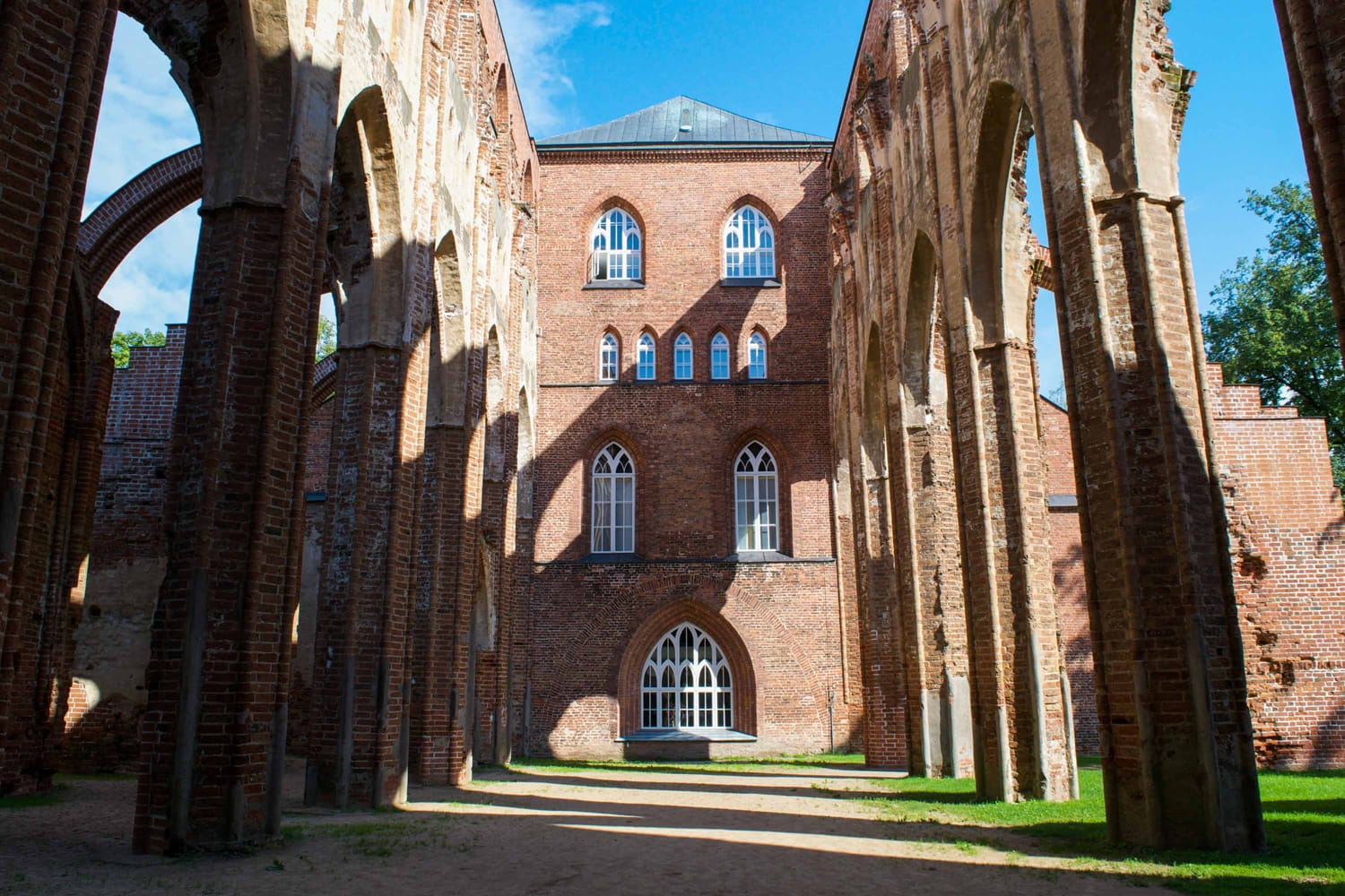 Cathedral Ruins in Tartu, Estonia