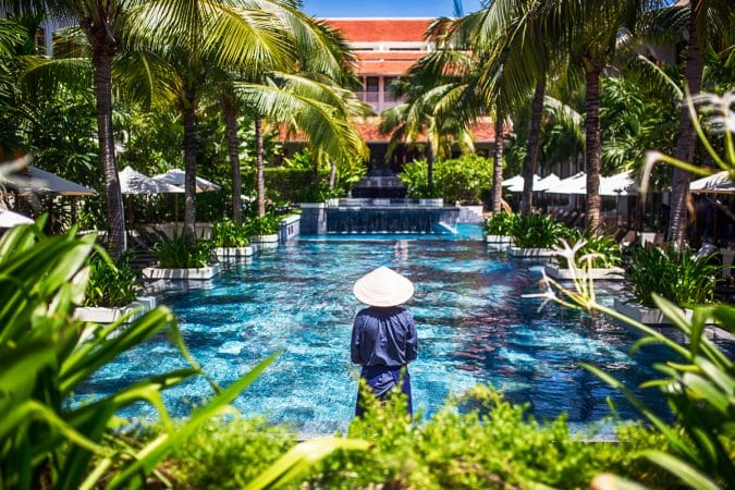 Pool at the Almanity Hoi An Wellness Resort in Hoi An, Vietnam