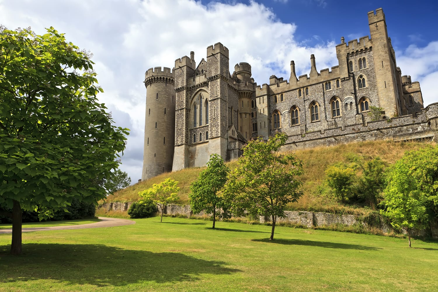 Arundel Castle, Arundel, West Sussex, England, United Kingdom (UK)