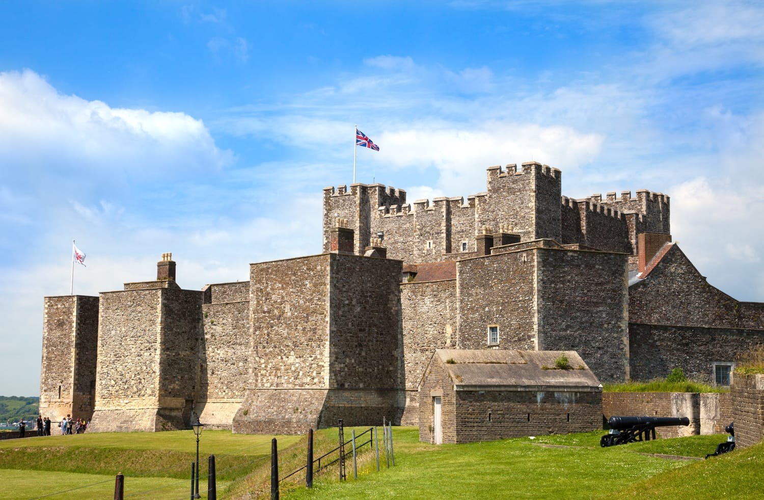 Dover Castle in England, UK