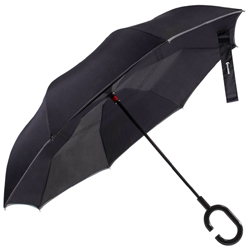 Glamore Inverted Double Layer Travel Umbrella