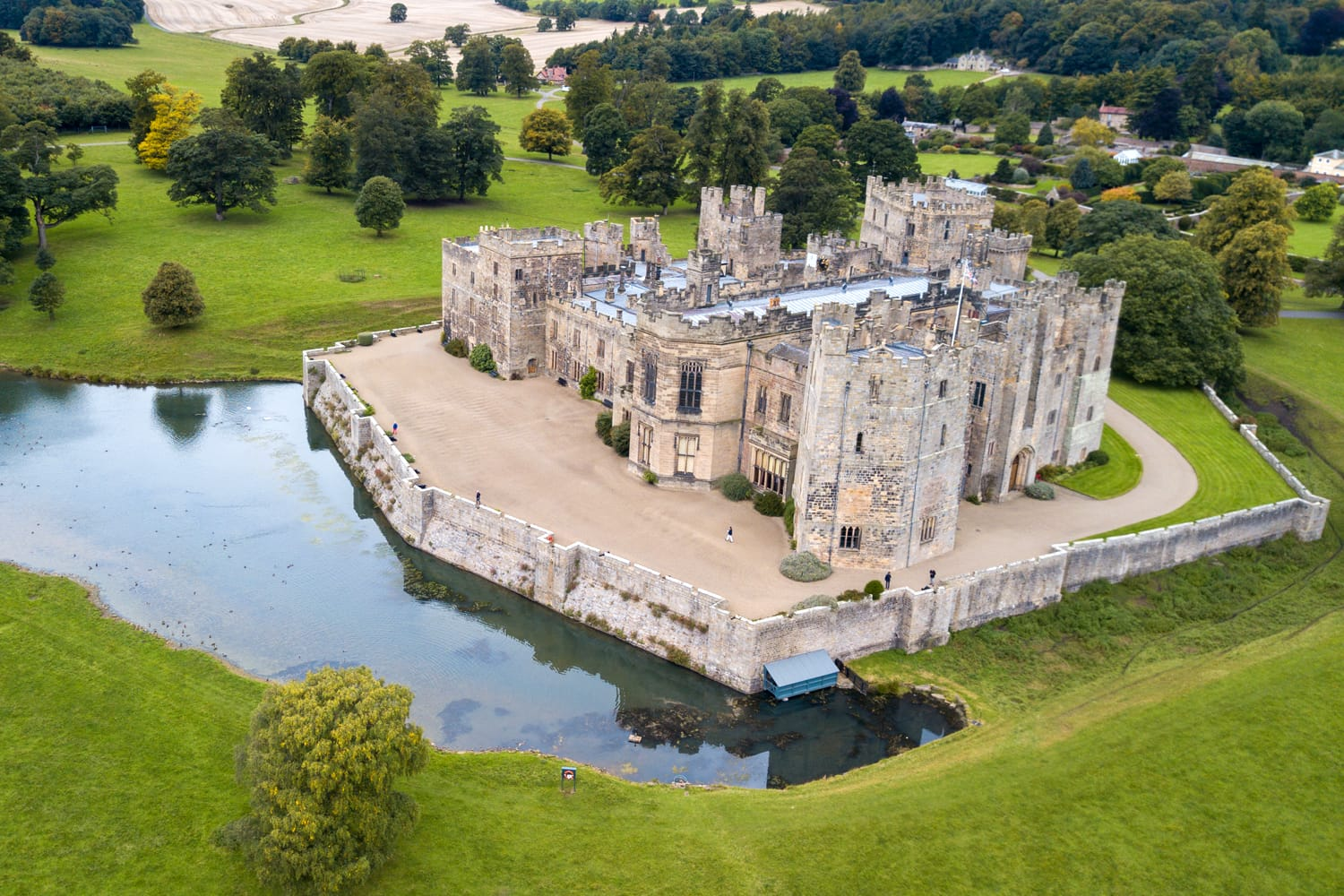 Raby Castle in England, UK
