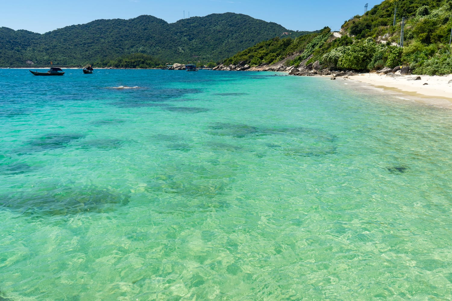 Cham Island in the archipelago of Ku Lao Cham in Vietnam with its beautiful beaches, landscapes and wildlife.