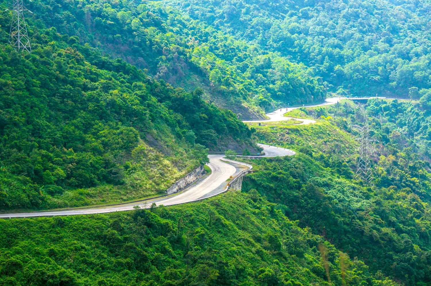 Hai Van Pass in Vietnam