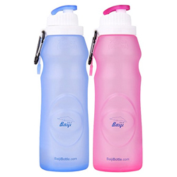 Baiji Silicone Water Bottle
