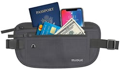 Miolle Money Belt for Travel
