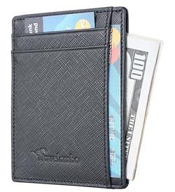 Travelambo RFID Minimalist Slim Wallet