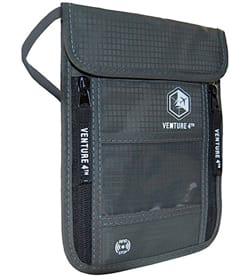 VENTURE 4TH Travel Neck Wallet