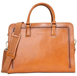 Banuce Womens Full Grains Leather Briefcase