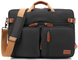 CoolBELL Convertible Travel Briefcase