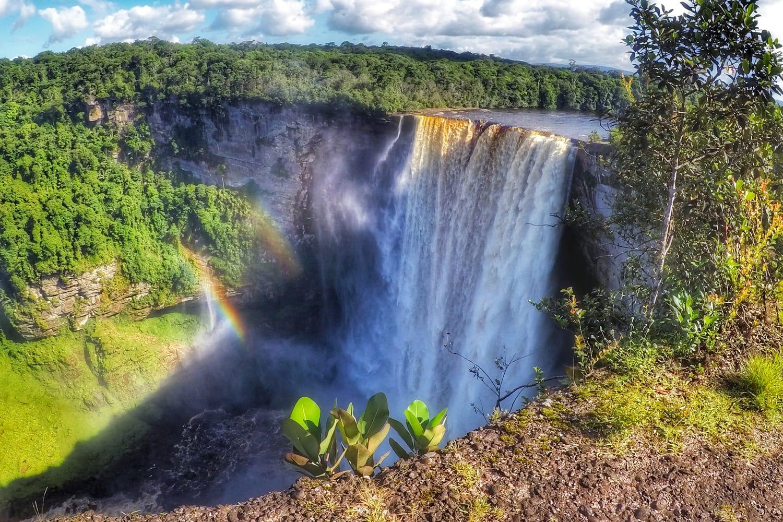 Keieteur Falls in Guyana