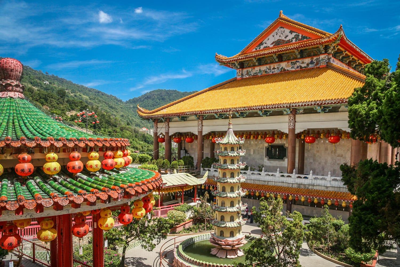 Kek Lok Si Temple in Penang island, Malaysia