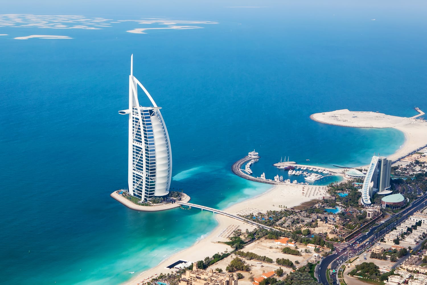 Burj Al Arab hotel in Dubai, UAE.