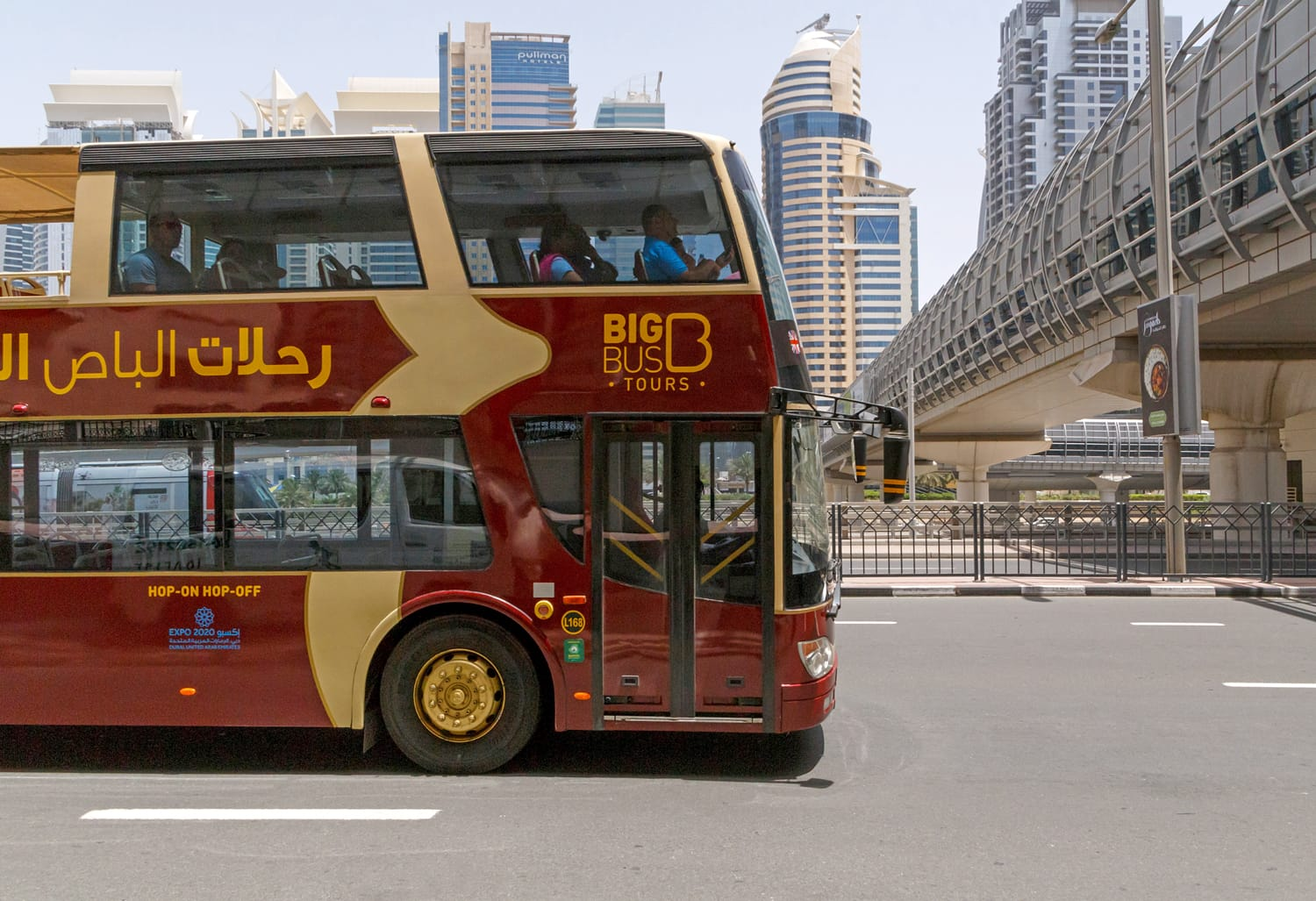 Hop on Hop off bus tours Dubai