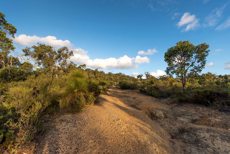 Kalamunda Zigzag Road in Australia