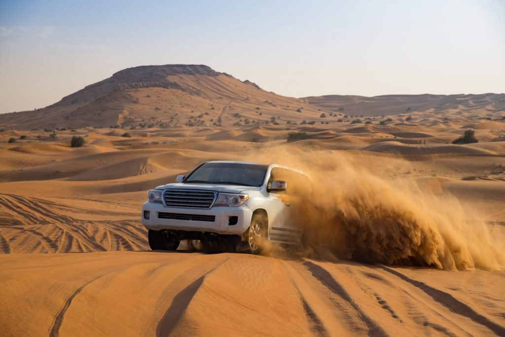 Offroad desert safari in Dubai, UAE