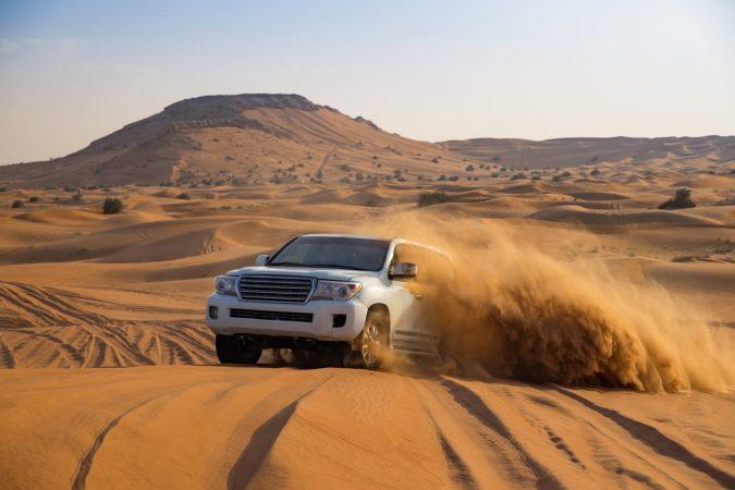 Offroad desert safari in Dubai, UAE