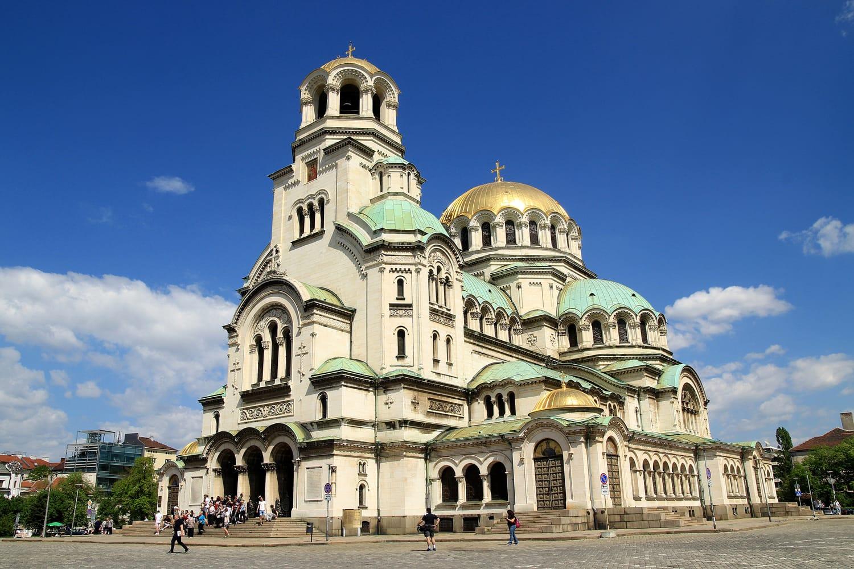 Orthodox church in Sofia Bulgaria